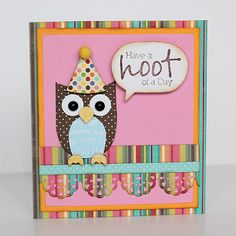 Mds owl cards stampin up pinterest owl card owl and cards m4hsunfo