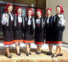 Bucovina Popular Costumes, Maybe Someday, Historical Costume, Eastern Europe, Romania, Folk, Traditional, Blouse, Fashion