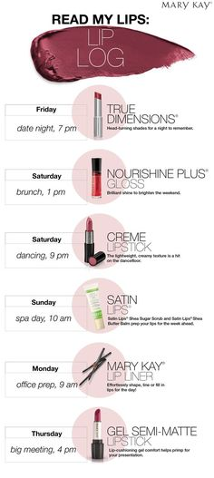 Valentine's Day is right around the corner.....Don't leave home without your favorite Mary Kay lip products!