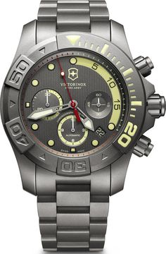 Victorinox Swiss Army Watch Dive Master 500 Mechanical Chronograph #bezel-unidirectional #bracelet-strap-titanium #brand-victorinox-swiss-army #case-material-titanium #case-width-43mm #chronograph-yes #classic #date-yes #delivery-timescale-call-us #dial-colour-grey #gender-mens #helium-valve-yes #limited-edition-yes #movement-automatic #official-stockist-for-victorinox-swiss-army-watches #packaging-victorinox-swiss-army-watch-packaging #style-divers #subcat-dive-master…