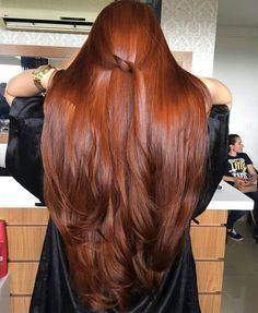 Fashionable hair color 2019 for long hair: The main directions and trends in the photo color directions fashionable photo trends longhairs 590464201129387602 Face Shape Hairstyles, Pretty Hairstyles, Straight Hairstyles, Elvish Hairstyles, Fishtail Hairstyles, Red Hairstyles, Beautiful Long Hair, Gorgeous Hair, Natural Red Hair