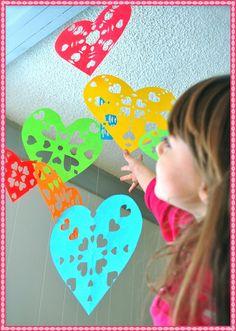 Snowflake hearts on @LaylaGrayce blog! #laylagrayce #holidays #valentinesday