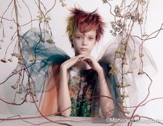 Fashion Portraits by Munenari Maegawa - 1