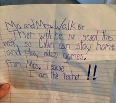 when kids write darndest things