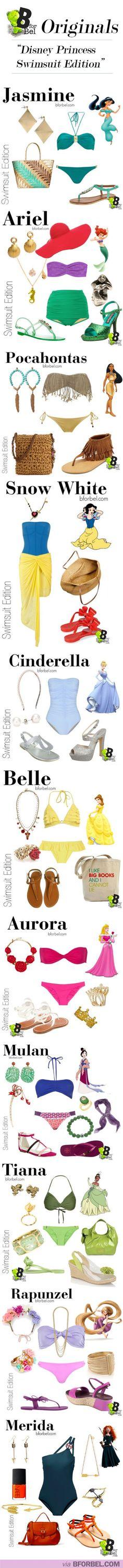 BforBel Originals: Disney Princess Swimsuit Edition