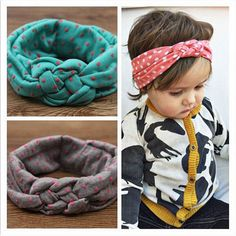 Baby Toddler Soft Girl Kids Cross Hairband Turban Knitted Knot Headband Headwear Hair Bands Hair Accessories