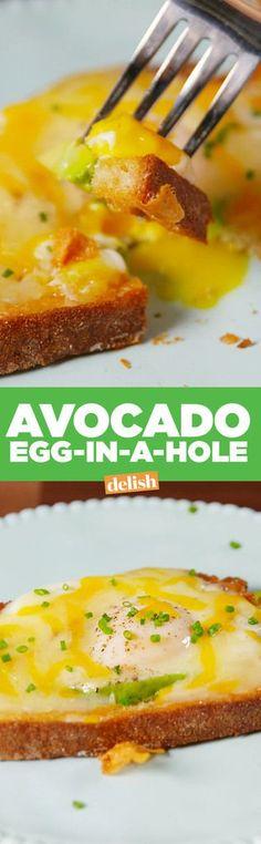 Avocado Egg-In-A-HoleDelish