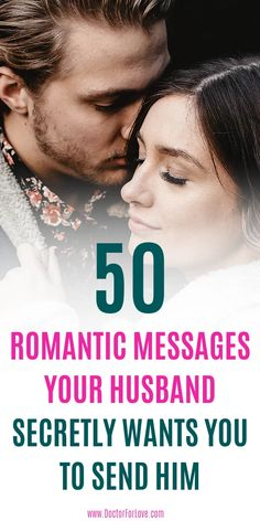 Melt your husband's heart by sending him these awesome 50 romantic messages. He secretly wants you to love him in this way. Romantic Messages/Messages For Him/ Romantic Messages For Partner/ Love and marriage/ Marriage Goals and Marriage Romantic Messages For Husband, Love Message For Boyfriend, Love You Messages, Love Message For Him, Good Night Messages, Love Quotes For Him, Best Message For Husband, Husband Surprise, Romantic Ideas For Him