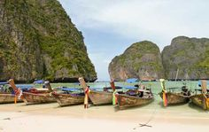 KOH PHI PHI. Maya Bay on Koh Phi Phi island has to be seen to be believed.