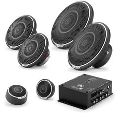"JL Audio C7 3-Way Active Component Set (6.5"""", 3.5"""" & Tweeter) With TwK-88 Digital Signal Processor"