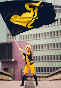 Len Kagamine - Love is War, by Anzukami
