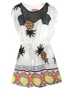 Fair Trade Nyota Print T-shirt Dress