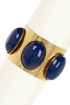 Royal Stone Cuff by Olivia Welles on @HauteLook