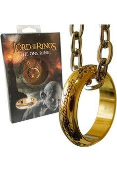 Réplique de l'anneau unique du Seigneur des Anneaux