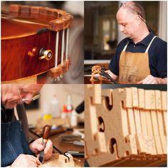 how to build a violin bow rehairing jig   Collage of shop images