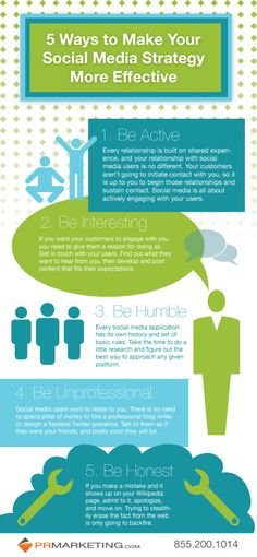 Infographics 5 Ways to Make Your Social Media Strategy