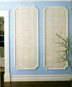 wall decor with wall panels