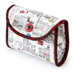 Quilt, cut, sew, and go. In short order you'll have an on-the-go camera case. Add some slots to hold extra memory card and/or batteries!