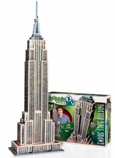 Empire State Building Landmarks 3D Puzzle
