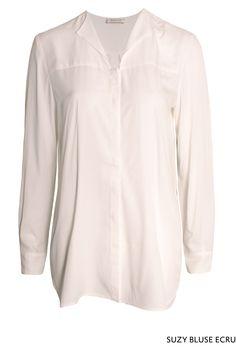 Suzy Bluse Ecru von KD Klaus Dilkrath #kdklausdilkrath #kd #kd12 #dilkrath #KDKlausDilkrath #blouse #ecru #fashion