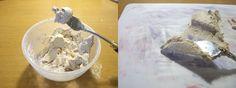 В первой части большой статьи 'Декоративная штукатурка для рельефной живописи' я рассказала вам о готовый составах, продающихся на российском рынке и опробованных мною в работе. Во второй части я поделюсь с вами рецептом материала, который я смешала сама, опять же, опытным путем. Конечно, можно было бы продолжить эксперименты с готовой немецкой штукатуркой Мармур, но цена вопроса заставила искать…