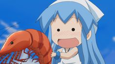 Squid Girl....Forever loving those lobsters! She would would like Red Lobster. It would be HEAVEN!   FOUND HER!