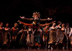 Bo Busby with Boston Ballet in Romeo and Juliet, photo by Rosalie O'Connor.