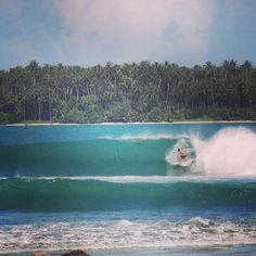 Nias. Indonesia. Finally surf the wave I've been watching all my life.