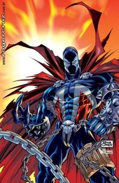 Spawn by Roger Cruz Spawn Comics, Dc Comics Art, Marvel Dc Comics, Anime Comics, Cosmic Comics, Comic Book Characters, Comic Book Heroes, Comic Character, Comic Books Art