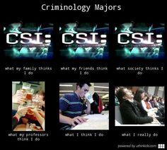 114cd2b84112fbee18918be1f52a84c3 forensic science criminology criminal justice major meme put together by me ) criminology