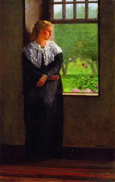 Reverie (1872) - Winslow Homer - (American, 1836 - 1910)