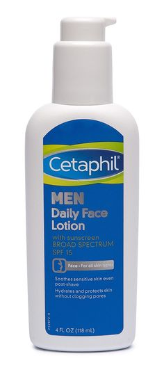 Cetaphil Men Daily Face Lotion with SPF 15, 4 Ounce (Pack of 2) ** Trust me, this is great! Click the image. : Creams and Moisturizers