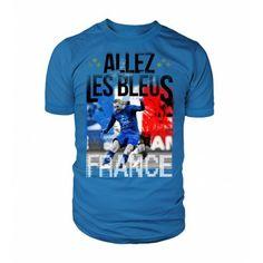 Allez la France! #kusteez #customtees #kusteezcustomtees #tshirt #tee #printedtshirt #printedtee #jocks #sports #sporttees #sporttshirt #baseball #basketball #football #soccar #hockey #fans #event