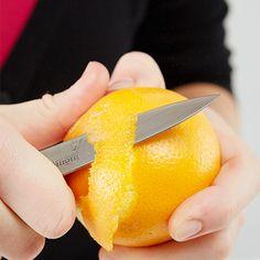und etwas Orangenschale