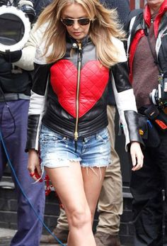 Make your valentine day special get Singer Kylie Minogue Red Heart new Jacket very nominal price!