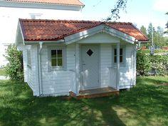 Valdres 15 m2 Inngang på langsiden tømmer 88x130 mm Shed, Outdoor Structures, Barns, Sheds