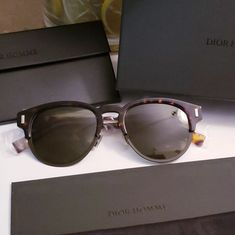 ef54defd57 New 750 DIOR Titanium Wayfarer Sunglasses Brand Totally New  750 Designer  100% Authentic DIOR HOMME