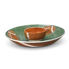 Pfaltzgraff® Football Chip N Dip - when every game is a big game