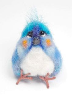 Beki By agaFil - This listing is for one needle felted bird, the size is approximately 8,5 centimetres high