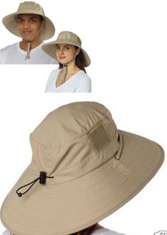 Clothing 72891  Nwt Sun Protection Zone Adult Unisex Lightweight Booney  Adjustable Hat Khaki -  BUY IT NOW ONLY   16.99 on eBay! a5e8bc1761c5