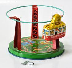 1960年代 日本製ブリキのおもちゃ 1960's Made in Japan Tin Toy 1970s Toys, Retro Toys, Vintage Toys, 1960s, Childrens Kitchens, Space Toys, Beach Kids, Tin Toys, Antique Toys