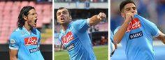 NAPOLI - Il Napoli batte il Parma 3-1 con i gol di Cavani, Pandev e Insigne e gli assist di Hamsik. È la terza vittoria di fila in campionato per gli azzurri che rispondono ai colpi di Lazio e Juventus, rimanendo in vetta alla classifica. http://www.ilmattino.it/sport/calcio/napoli_parma_3_1_cavani_pandev_e_insigne_gli_azzurri_in_vetta_rispondono_a_juventus_e_lazio/notizie/219767.shtml