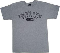 Gold 39 S Gym Classic Golds Logo Basic T Shirt Black Search ...