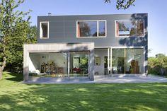 Cubic house in Belgium. Maison cubique contemporaine par LRArchitectes - Province du Hainaut en Belgique