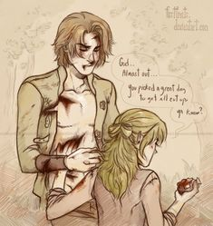 Reminds me of david and diana.    Cut by CrystalCurtis on DeviantArt