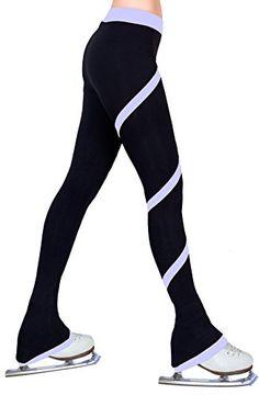 Ice Figure Skating Dress Practice Polar Fleece Pants Lavender Purple - Child Small ny2 Sportswear