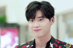 An animated gif. Make your own gifs with our Animated Gif Maker. Lee Jong Suk Cute, Lee Jung Suk, Asian Actors, Korean Actors, Suwon, Lee Jong Suk Wallpaper, Kang Chul, Lee Young, W Two Worlds