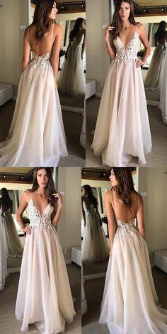 Sexy Open Back Spaghetti Strap Popular Long Prom Evening Dress f91921da0