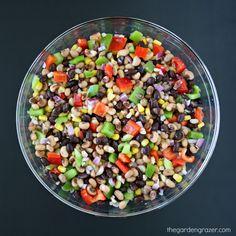 The Garden Grazer: Healthy Texas Caviar