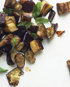 Roasted Eggplant with Basil - Martha Stewart Recipes